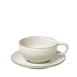 CUP W/SAUCER 'NORDIC SAND'